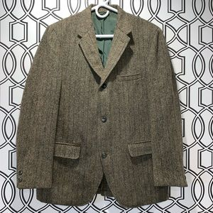 Vintage Harris Tweed men's jacket.  sport coat